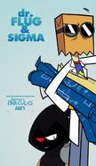 Emmet's-hercules-dr-flug-and-sigma-poster