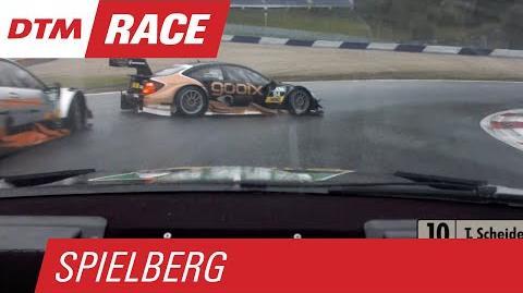 """""""PUSH HIM OUT!"""" - Scheider vs. Wickens & Wehrlein - """"Schieb ihn raus!"""" - DTM Spielberg 2015"""