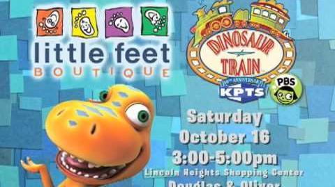 Dinosaur Train Buddy at Little Feet Wichita Oct 2010