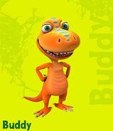 Meet The Characters; Buddy Tyrannosaurus