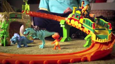Time Tunnel Mountain Set -- Dinosaur Train