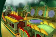 Inside Pliosaurus Pool Station