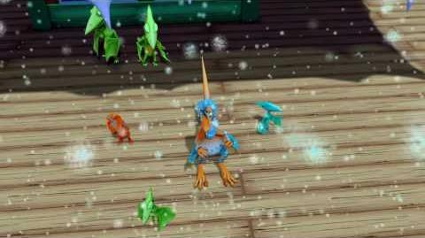 """Dinosaur Train"" - ""Dinosaurs in the Snow"""