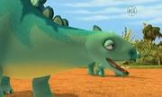 Morris the Stegosaurus