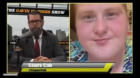 Rebel Media Gavin McInnes Interviews Coppercab Transgender LGBT (Claire Cab)