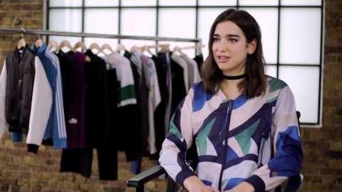 Dua Lipa for Foot Locker