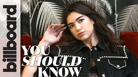 12 Things You Should Know About English Popstar Dua Lipa Billboard