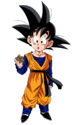 Goten kid render