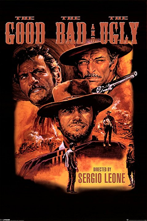 The Good The Bad /& the Ugly #32 movie poster