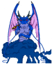 Black Smoke Shenron render