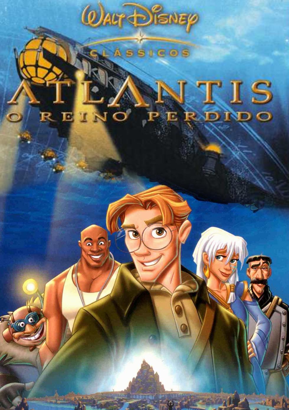 Atlantis: O Reino Perdido | Disney está desenvolvendo live-action