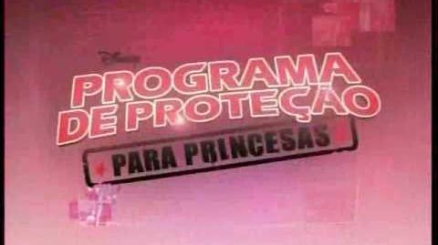 Programa de Proteção Para Princesas no Disney Channel em Julho