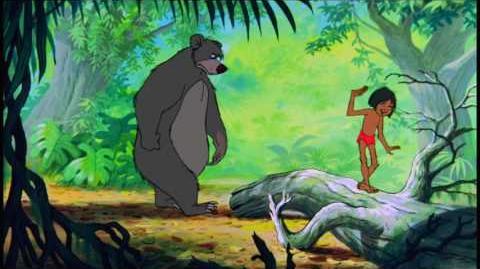 Jungle Book- The Bare Necessities - Mowgli solo (Croatian)