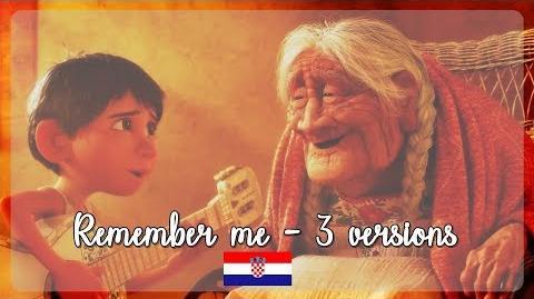 -HQ- Coco - Remember me - 3 Versions (Croatian) S&T