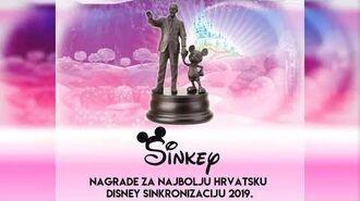 -REZULTATI- SINKEY 2019. - Nagrade za najbolju hrvatsku Disney sinkronizaciju