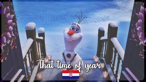 -HQ- Olaf's Frozen Adventure - That time of year (Croatian) S&T