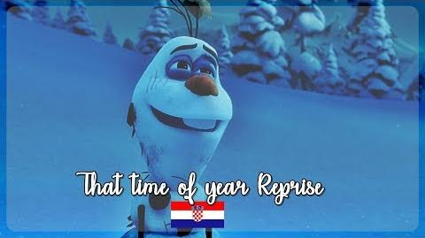 -HQ- Olaf's Frozen Adventure - That time of year Reprise (Croatian) S&T