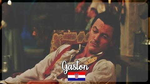 Beauty and the Beast 2017- Gaston (Croatian)