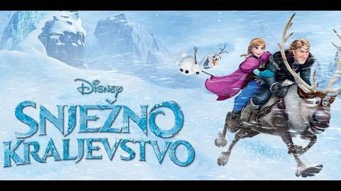 -DVD Quality- Frozen - Do you want to build a snowman (Croatian)