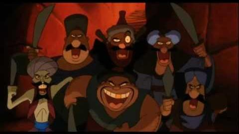Aladdin 3 - Welcome to the Forty Thieves (Croatian)