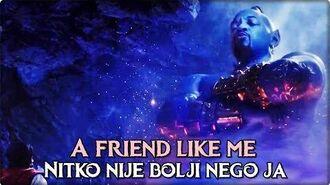 Aladdin (2019.) A Friend Like Me (Croatian)