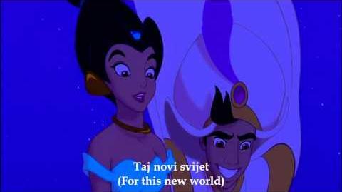 Aladdin - A Whole New World (Croatian) -Subs+Trans-
