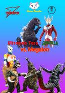 Ultraman Taro x Godzilla vs Megalon