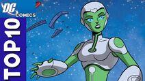 Aya (Green Lantern) as Spinel