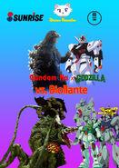 Gundam Nu x Godzilla vs. Biollante