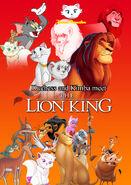 Duchess and Kimba meet The Lion King