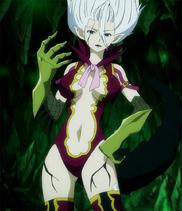 Mirajane (Fairy Tail) as Yellow Diamond