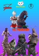 Ultraman Jack x Godzilla vs Hedorah