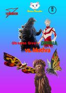Ultraman Great x Godzilla vs Mothra