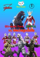 Ultraman Taro x Godzilla vs Mechagodzilla