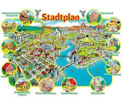 Entenhausen Stadtplan