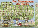 Der Stammbaum der Ducks von Don Rosa