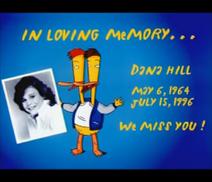 Duckman In Loving Memory Dana Hill