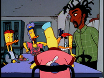 Coolio and the Duckman family