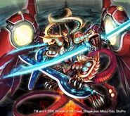 Cerulean Dagger Dragon artwork