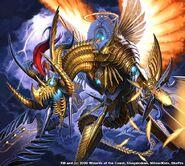 Za Yes, Light Divine Dragon artwork