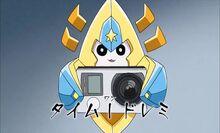 Doremi holding a camera