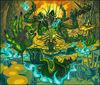 Fallen Monk of the Bloodstained Soil, Zahaku artwork