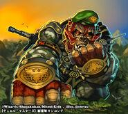 Kinkong, Beast Army artwork