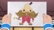 Higesori drawing