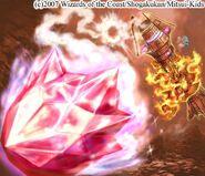 Fire Crystal Bomb artwork