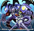 Shield Pierce, Blue Divine Dragon artwork