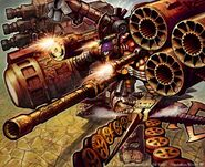 Armored Blaster Valdios artwork
