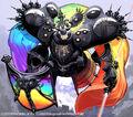 Ferrosaturn, Spectral Knight artwork