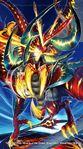 Gaial King Dragon, Raging Dragon Lord artwork