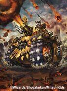 Spike 7K, Ganzan Tank artwork